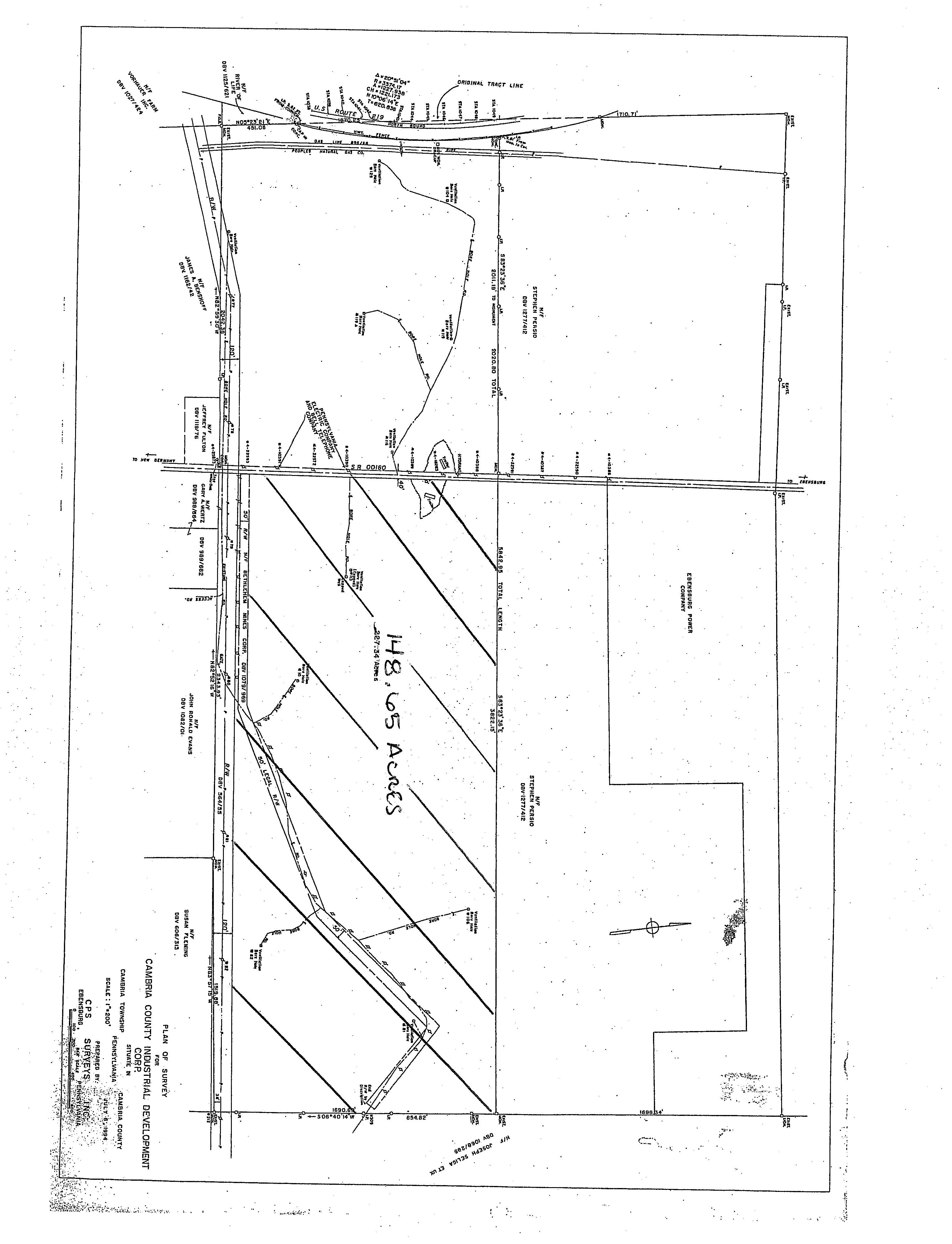 Cambria County Industrial Development Land